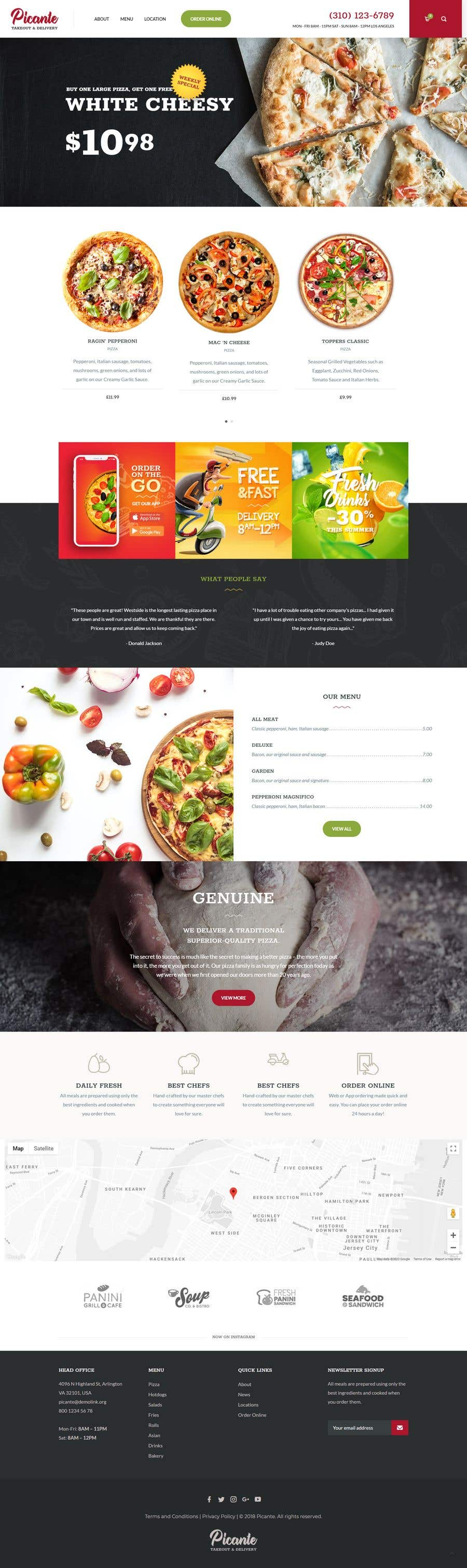 Bài tham dự cuộc thi #                                        31                                      cho                                         Build me Shopify store with online ordering for my takeaway restaurant