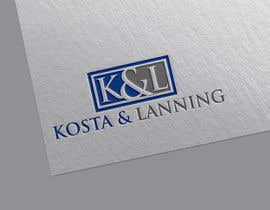 "#201 for We are realtors. We want to keep ""Kosta & Lanning"" but we need to create a better logo to surround that and we hope it to also get some kind of insignia that compliments this logo. Fire. A lion. Or something. af mttomtbd"
