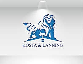"nº 258 pour We are realtors. We want to keep ""Kosta & Lanning"" but we need to create a better logo to surround that and we hope it to also get some kind of insignia that compliments this logo. Fire. A lion. Or something. par alauddinh957"