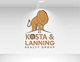 "nº 251 pour We are realtors. We want to keep ""Kosta & Lanning"" but we need to create a better logo to surround that and we hope it to also get some kind of insignia that compliments this logo. Fire. A lion. Or something. par rezaulkarim67095"