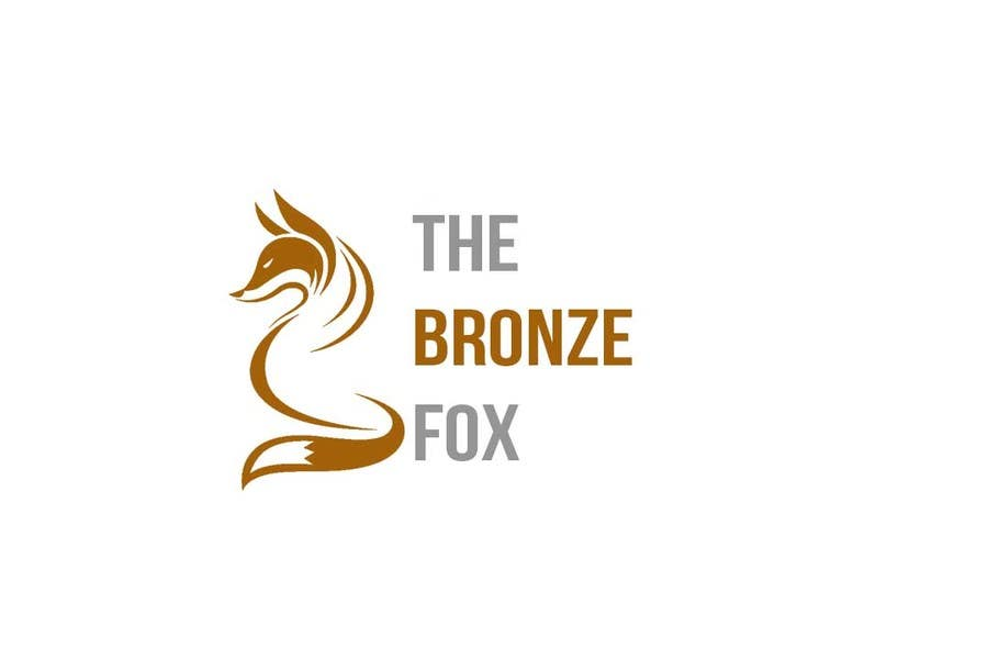 Tävlingsbidrag #57 för Design a Logo for The Bronze Fox