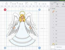 #31 for Original Clipart Design, Christmas Star, Angel, Mittens af sdesignworld