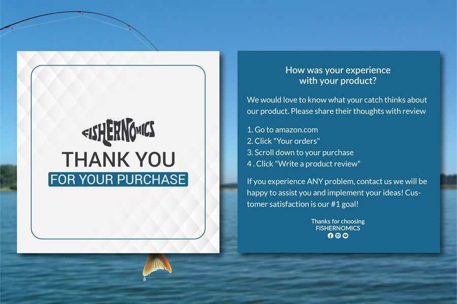 Penyertaan Peraduan #                                        38                                      untuk                                         Help design my thank you card for Amazon