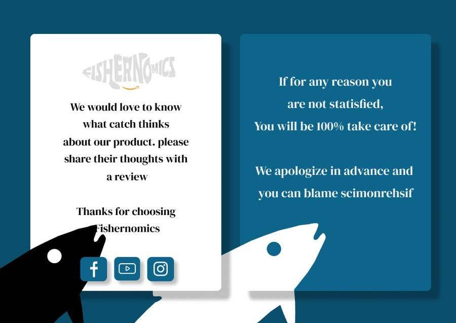 Penyertaan Peraduan #                                        9                                      untuk                                         Help design my thank you card for Amazon
