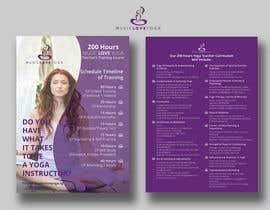 #45 for Design a clean yoga teacher brochure by imranislamanik