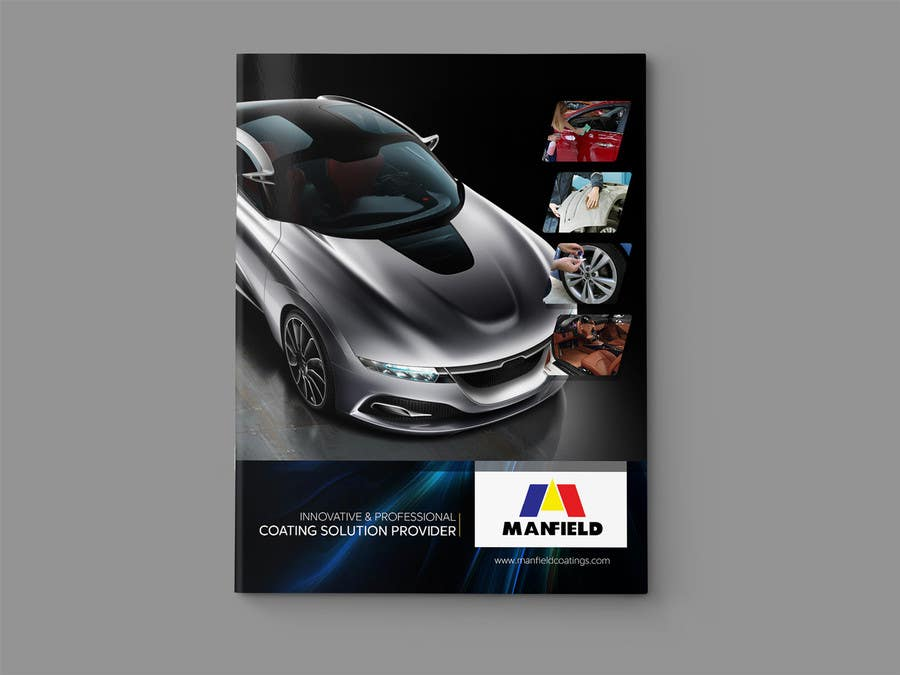Entri Kontes #                                        2                                      untuk                                        Cover and Back Cover Design for Brochure - Coating Company targeted for Automotive Industry