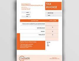 #38 for Xero invoice template by imranislamanik