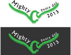 nº 30 pour Logo Design for Mighty Peace Day 2013 par webdemon