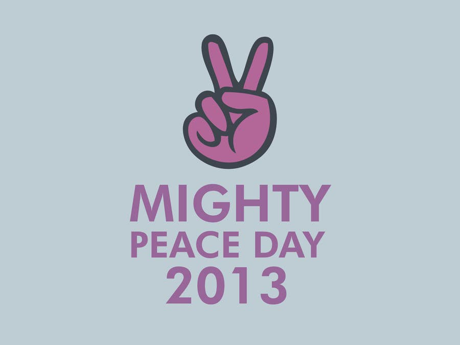 #9 for Logo Design for Mighty Peace Day 2013 by Siamdxl
