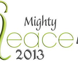 nº 26 pour Logo Design for Mighty Peace Day 2013 par mayalogic