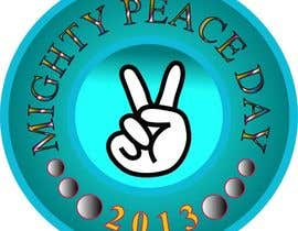 nº 19 pour Logo Design for Mighty Peace Day 2013 par Monjul