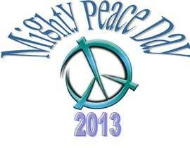 nº 21 pour Logo Design for Mighty Peace Day 2013 par mavecilla