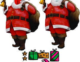 #49 for Santa Claus wearing a covid mask af Mrbba215