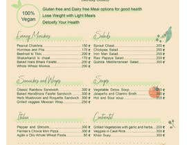 Nro 32 kilpailuun Design a Health Food Menu Card for Farmtable Restaurant käyttäjältä mgnngn