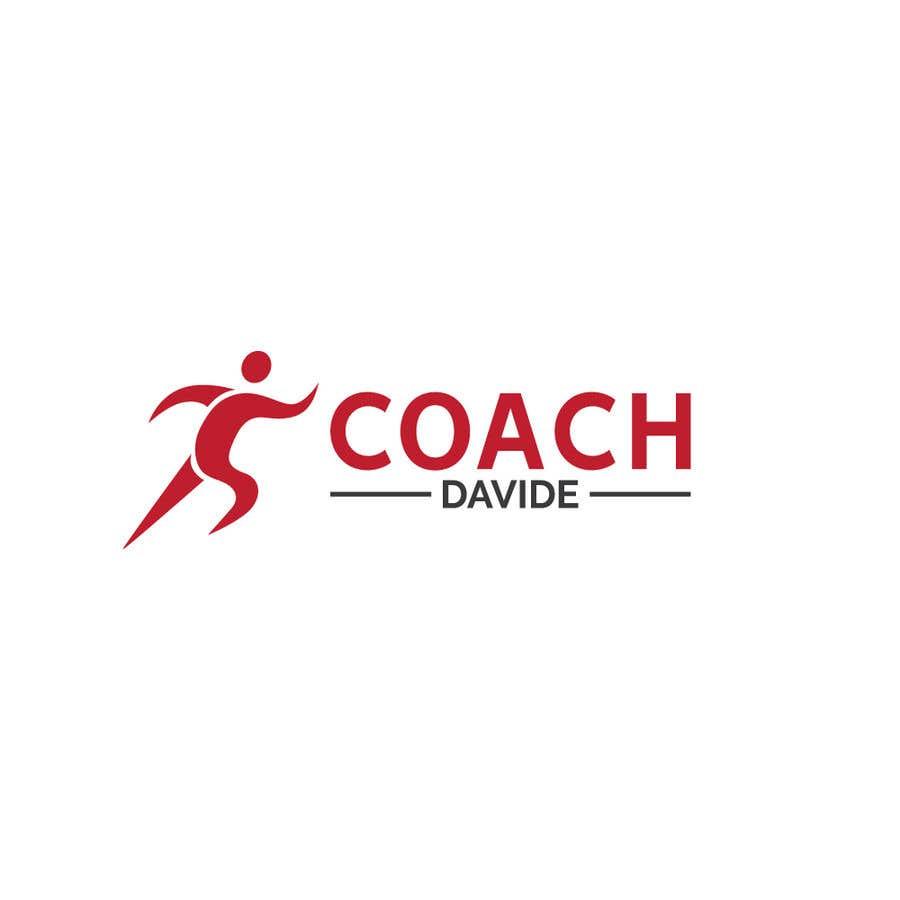 Kilpailutyö #                                        67                                      kilpailussa                                         Logo for personal trainer - Coach Davide