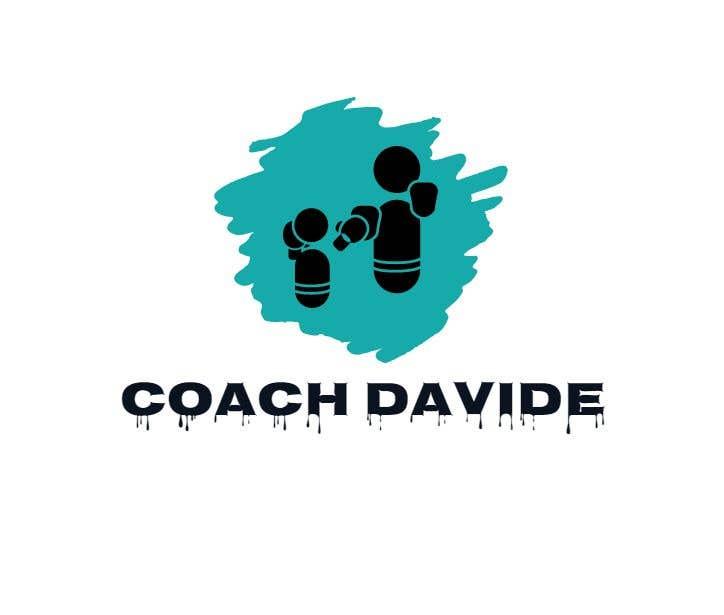 Kilpailutyö #                                        185                                      kilpailussa                                         Logo for personal trainer - Coach Davide