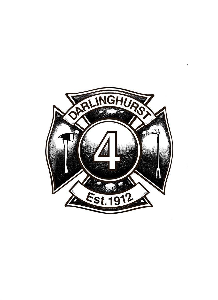 Konkurrenceindlæg #                                        31                                      for                                         Design a logo for our Fire Station Crew T-Shirt