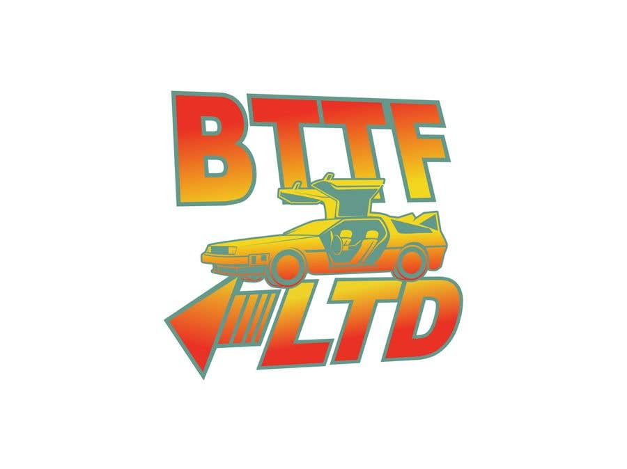 Konkurrenceindlæg #                                        153                                      for                                         Design a logo for a Back To The Future Car Hire Company called BTTF LTD