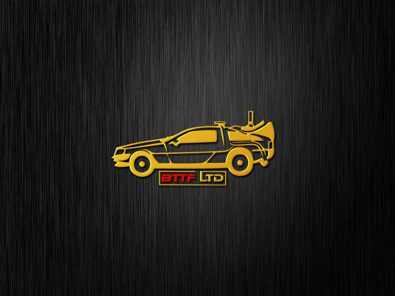 Konkurrenceindlæg #                                        160                                      for                                         Design a logo for a Back To The Future Car Hire Company called BTTF LTD