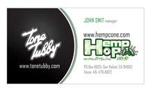 Business Card Design for Tone Tubby & HempHop contest winner