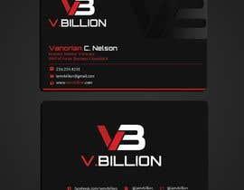 Nro 50 kilpailuun V.BILLION Business Card - 30/10/2020 01:34 EDT käyttäjältä twinklle2