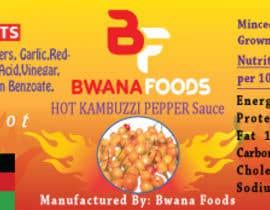 Nro 64 kilpailuun Label for a food product käyttäjältä TareqJia