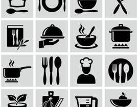 Nro 367 kilpailuun Restaurant Icon set käyttäjältä salitasalili95