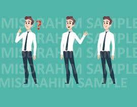 Nro 35 kilpailuun make an animation character käyttäjältä misdrahim