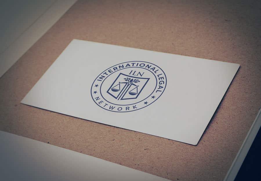Konkurrenceindlæg #                                        613                                      for                                         Logo for international law firm