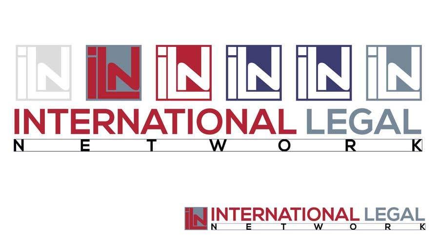 Konkurrenceindlæg #                                        573                                      for                                         Logo for international law firm