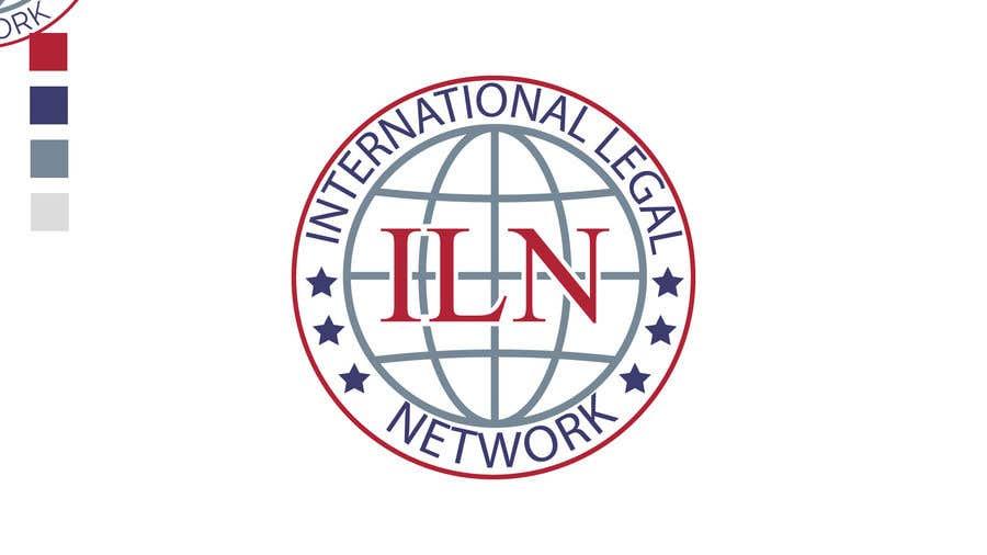 Konkurrenceindlæg #                                        615                                      for                                         Logo for international law firm