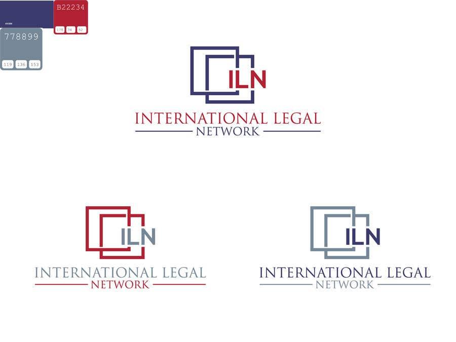 Konkurrenceindlæg #                                        616                                      for                                         Logo for international law firm