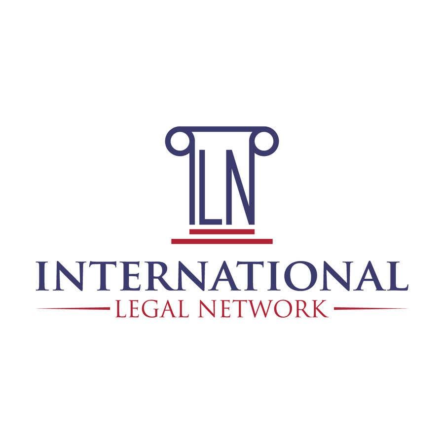 Konkurrenceindlæg #                                        21                                      for                                         Logo for international law firm