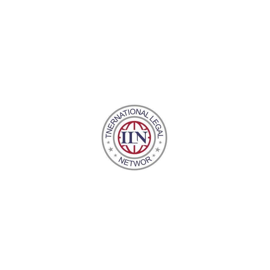 Konkurrenceindlæg #                                        571                                      for                                         Logo for international law firm