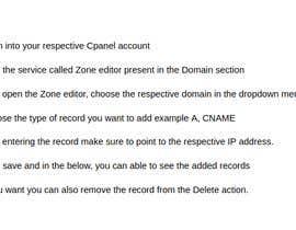 Nro 7 kilpailuun Need to add DNS domain records into cpanel käyttäjältä VijayAlaguraja