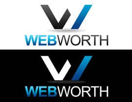 #44 para Logo Design for WebWorth de MaestroBm