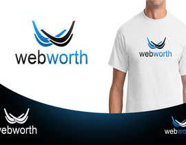#60 para Logo Design for WebWorth por MaestroBm