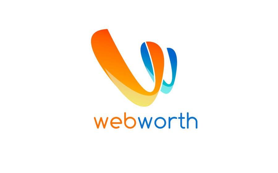 Entri Kontes #253 untukLogo Design for WebWorth