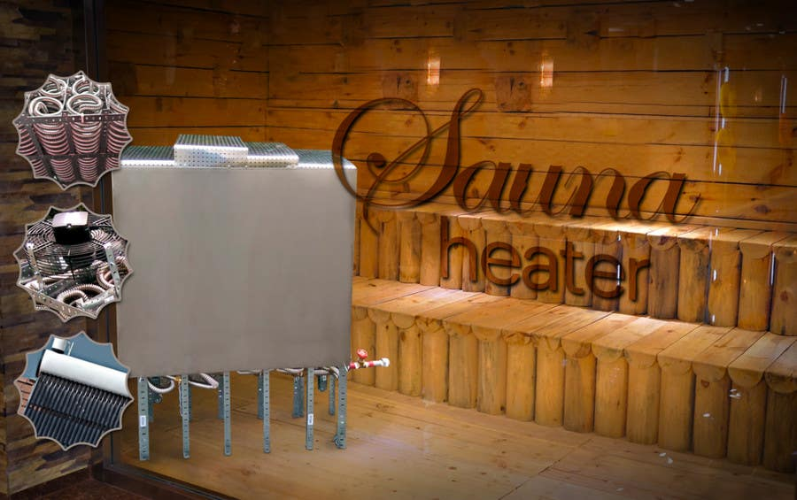 Contest Entry #                                        4                                      for                                         Design a photorealistic photo of a non electric sauna heater