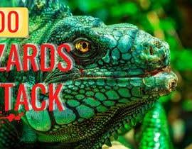 Nro 20 kilpailuun Create a Youtube thumbnail photo ----- for a youtube video (lizards) käyttäjältä tanujadiware