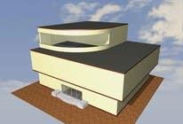 Participación Nro. 1 de concurso de Building Architecture para Elevations for an office building
