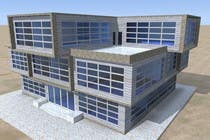 Participación Nro. 6 de concurso de Building Architecture para Elevations for an office building