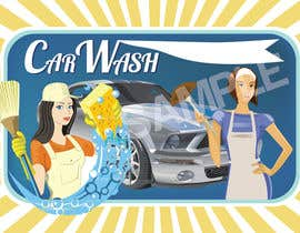 #16 para Design a Banner for Car Wash de ZISGraphics