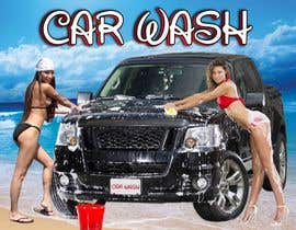 #10 para Design a Banner for Car Wash de clickcreative