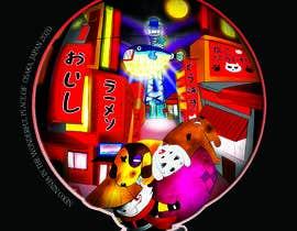 #555 for Neko Ninja Contest (Japanese Cat Ninja) by maryad1989