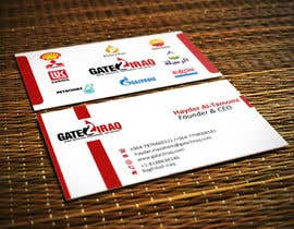 #25 for Design some Business Cards for Gate2Iraq Group by GhaithAlabid