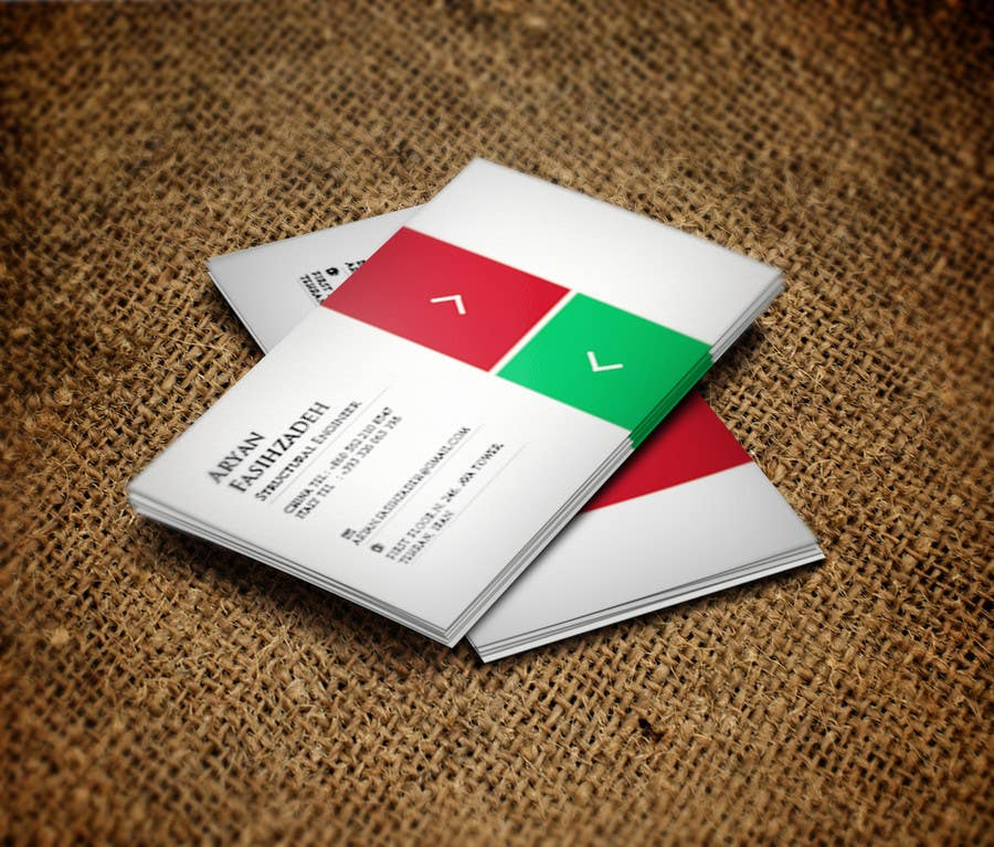 Contest Entry #                                        5                                      for                                         Design some Business Cards