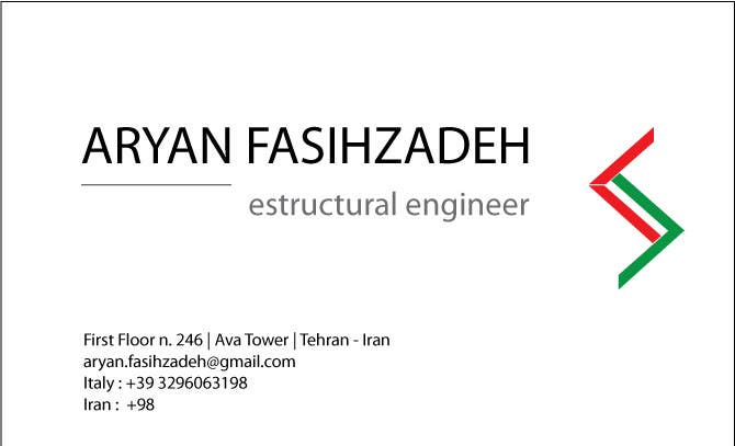 Contest Entry #                                        1                                      for                                         Design some Business Cards
