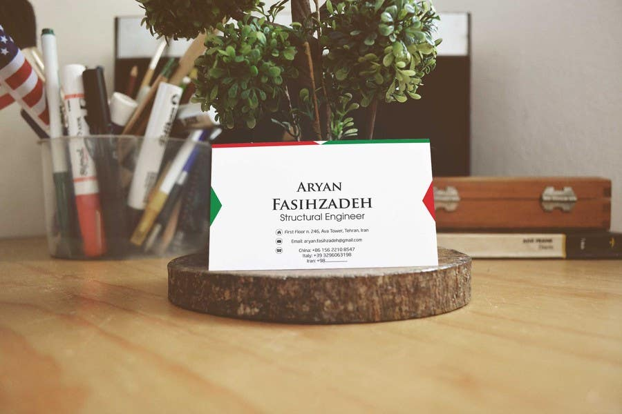 Konkurrenceindlæg #                                        40                                      for                                         Design some Business Cards