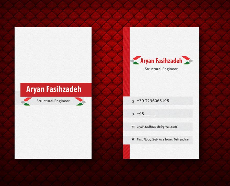 Contest Entry #                                        27                                      for                                         Design some Business Cards